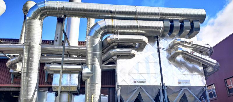 Aluminio galdaketako labeak - Industria